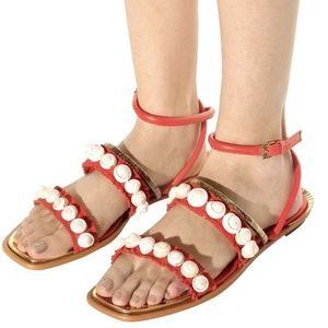 Tory Burch Sinclair shell samba leather sandals